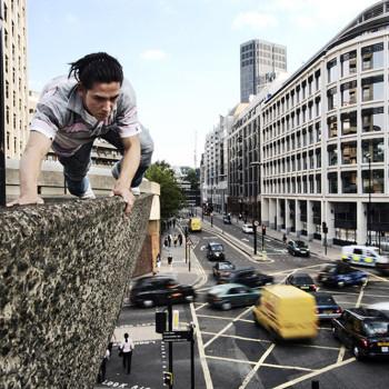 Daniel On a Building