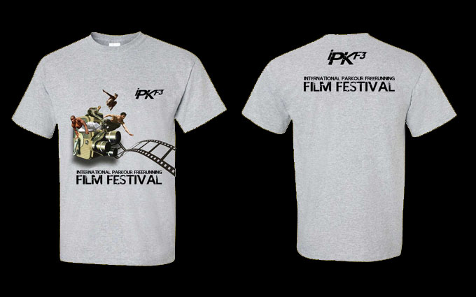 Official iPKF3 Tees available for pre-order with your Festival Pass!