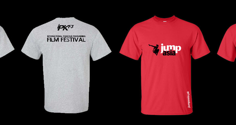 Official Jump Asia Tees available for pre-order with your Festival Pass!